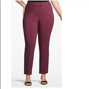 NWT Lane Bryant Ankle Waistband Pants Stretch